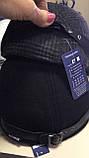 Бейсболка мужская чёрная из шерстяной ткани 56 57 59-60   разм, фото 5