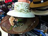 Летняя шляпа с большими полями из соломки, фото 5