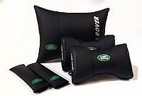 Комплект аксессуаров салона Автомобильная подушка с вышивкой логотипа Подарок в машину мужчине