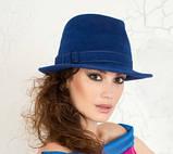 Молодёжная фетровая шляпа мужского стиля, фото 2