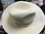 Фетровий капелюх чоловічого стилю поля 9.5 см, фото 4