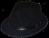 Шляпа мужская летняя  льняная большого размера 59-61 белая и бежевая, фото 2