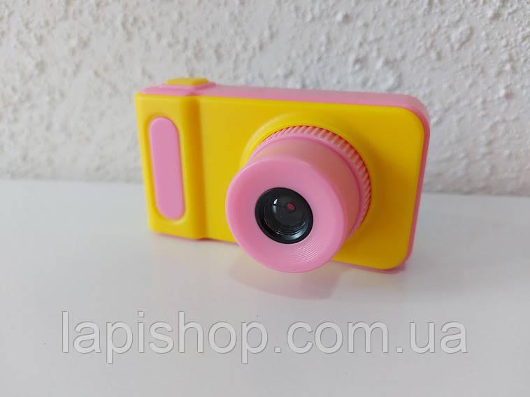 Детский фотоаппарат Smart Kids Camera V7 Розовый