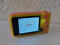 Детский фотоаппарат Smart Kids Camera V7 Розовый, фото 3