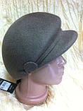 Модная женская кепка  из фетра с ободком, фото 3