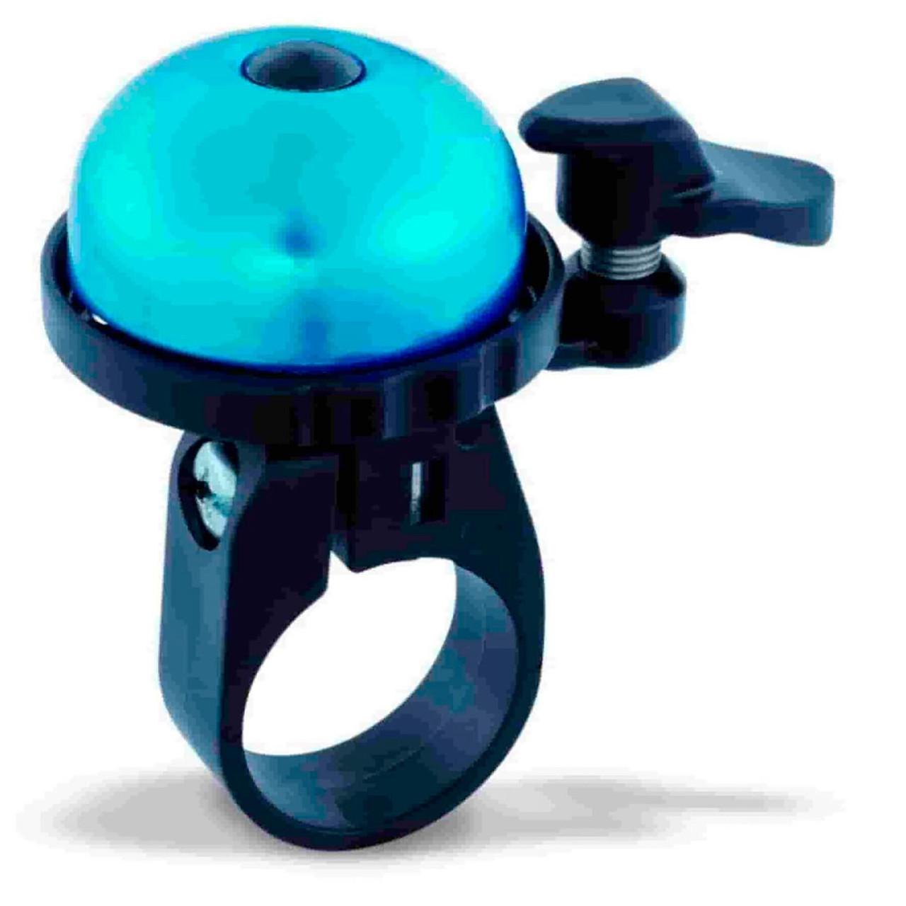 Звонок на велосипед VENZO с креплением на 22мм синий