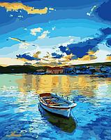 Картины по номерам 40×50 см. Babylon. Озеро Брайес.