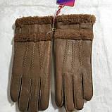 Перчатки женские и подросток из натуральной овчины дубляж, фото 6
