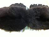 Перчатки женские и подросток из натуральной овчины коричневый, фото 4