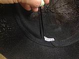Шляпка чёрная с волнистыми полями и жемчужиной, фото 3