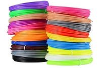 Набор пластика для 3D-ручки качество PLA 100 метров, фото 1
