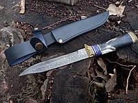 Нож дамасский охотничий S-97