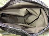 Шапка чалма демисезонная размер  с хлопковой подкладкой  беж-розовая, фото 3