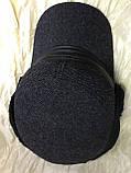 Немка зимняя мужская серая  шерстяная с меховым отворотом 56 57 58 размер, фото 5