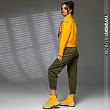 Новинка куртка из эко-кожи : S, M, L. цвет малиновый сиреневый желтый и черный, фото 6