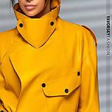 Новинка куртка из эко-кожи : S, M, L. цвет малиновый сиреневый желтый и черный, фото 7