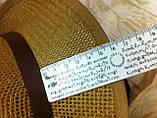 Шляпа летняя мужская коричневая с ремешком и лентой, фото 5