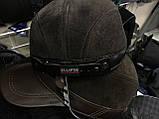 Коричневая мужская  немка из натуральной замши и кожи 59 60, фото 3
