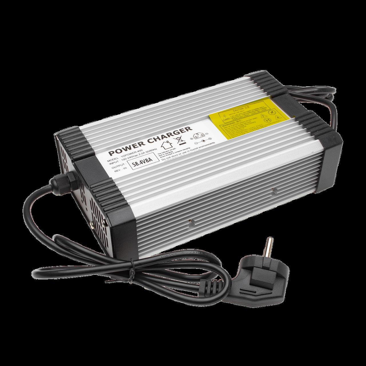 Зарядное устройство для аккумуляторов LiFePO4 48V (58.4V)-8A-384W