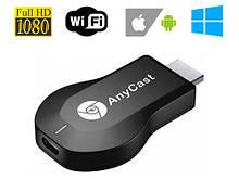 Адаптер донгл Anycast M9 Plus, Wi-Fi, HDMI, Miracast, Airplay, DLNA