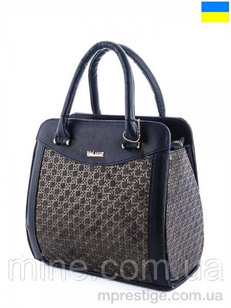 Женская сумка  размер 26 х 25 см цвет черный