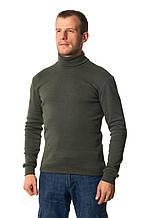 Водолазка мужская цвета хаки XL = 46-48p