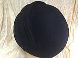 Фетровый берет шляпа с тремя  выпуклыми складками, фото 4
