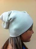 Эксклюзивная женская шапка с необычным дизайном, фото 3