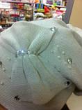 Эксклюзивная женская шапка с необычным дизайном, фото 4