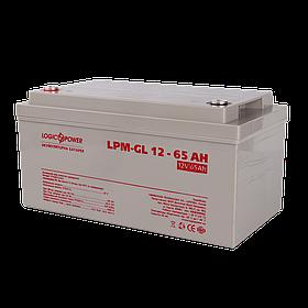Аккумулятор гелевый LogicPower LPM-GL 12 - 65 AH для солнечных панелей
