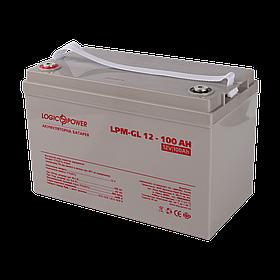 Аккумулятор гелевый LogicPower LPM-GL 12 - 100 AH для домашней электростанции