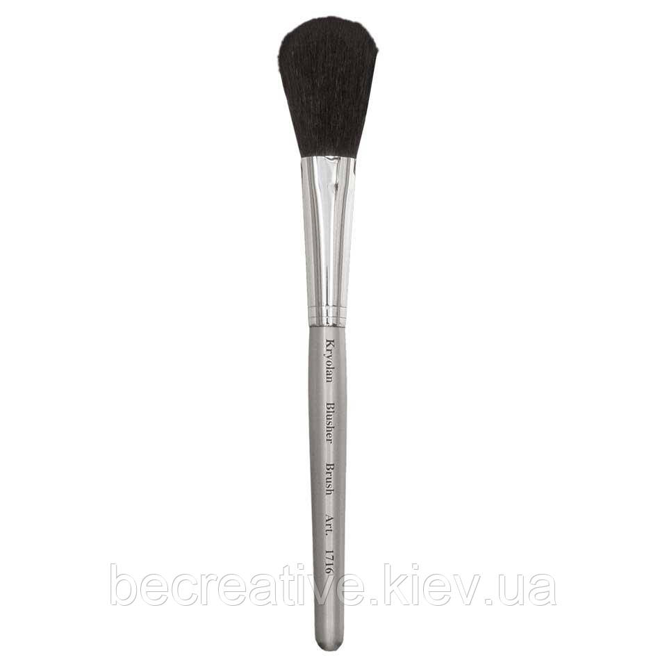 Кисть для нанесения румян Kryolan Professional Blusher Brush