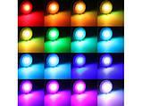 Светодиодная E27 LED RGB 5Вт лампа, 16 цветов с пультом ДУ, фото 2