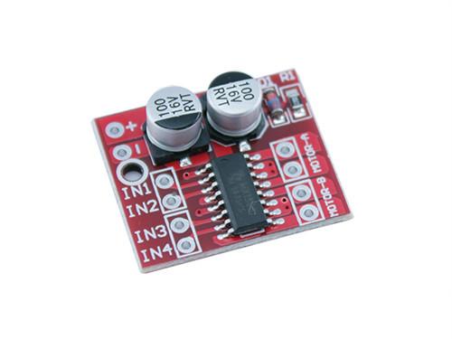 Драйвер двигателя 2-кан H-мост MX1508, L298N Mini для Arduino