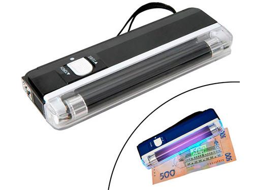 Детектор валют купюр ультрафиолетовый портативный DL01