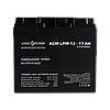Аккумулятор кислотный AGM LogicPower LPM 12 - 17 AH, фото 2