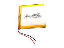 Аккумулятор 404865 Li-pol 3.7В 1800мАч для DVR GPS MP4 MP3 смартфонов