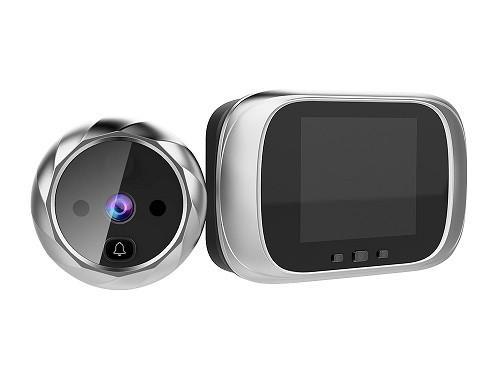 Видеоглазок цифровой с экраном 2.8″ для входной двери c подсветкой и звонком