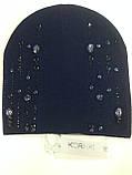 Женская шапочка украшенная крупными камням разных цветов, фото 9