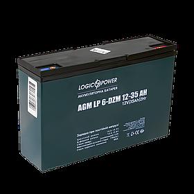 Тяговый свинцево-кислотный аккумулятор LP 6-DZM-35