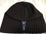 Коричневая шапка с фиксированным наклоном назад, фото 2