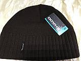 Коричневая шапка с фиксированным наклоном назад, фото 7