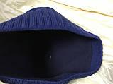 Коричневая шапка с фиксированным наклоном назад, фото 8