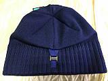 Коричневая шапка с фиксированным наклоном назад, фото 10