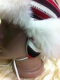 Шапка - ушанка для девочек размер 51-52 с доп. ушками, фото 3