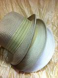 Шляпа летняя мужская с лентой и завернутыми сзади полями, фото 6