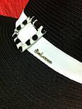 Женская шляпа  для лета цвет черный, фото 3