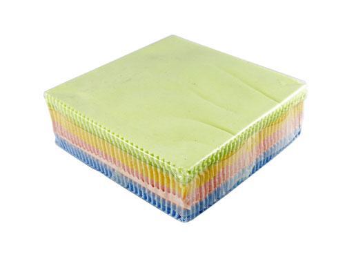100x Салфетка чистящая из микрофибры ткань для протирки оптики экранов