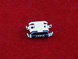 MicroUSB разъем гнездо 5pin MC-125 Lenovo S650 S820 A830 A850 A820T, фото 2