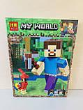 Конструктор Майнкрафт 11166 Minecraft, фото 2